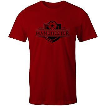 T-shirt da calcio con badge del Manchester United 1878