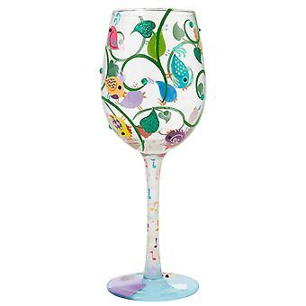 لوليتا سونغ بيرد النبيذ الزجاج