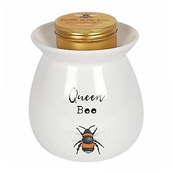 Large Queen Bee Wax Melt Burner Gift Set by Toucan Gifts