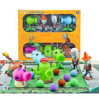 سيتا النباتات لعبة الكسالى لعبة التماثيل نموذج لعب الأطفال تعيين dt4623