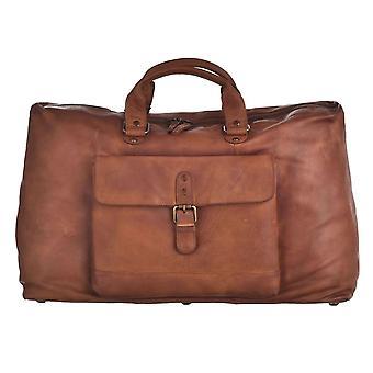 Genuine Vintage Leather Weekend Bag