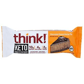 Think! Bar Keto Prtn Cho Pnt Btr, Case of 10 X 1.41 Oz