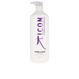 I.c.o.n. Pure Light Toning Shampoo 1000 Ml Unisexe