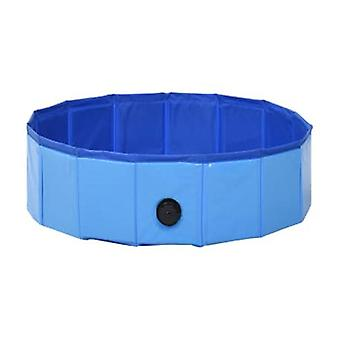 Foldable Dog Swimming Pool 80X20 Cm Pvc