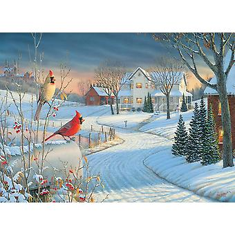 Eurographics Country Cardinals Jigsaw Puzzle (1000 Pieces)
