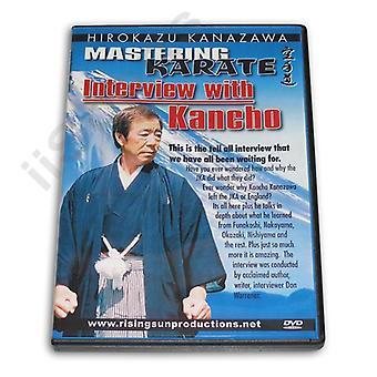 Maîtriser le karaté #8 Interview Dvd Hirokazu Kanazawa -Vd6630A