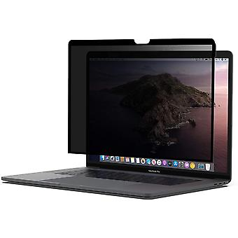 ScreenForce TruePrivacy Screen Protector for MacBook Pro 15 (Removable + Reusable Privacy Screen