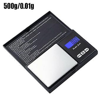 (0.01-500g) 0.01G-500G/100G Portable Digital Weight Small Scale Kitchen Flavoring Weighing