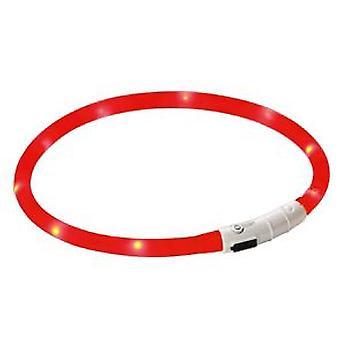 Kerbl Maxi Säker Röd Led Ljus krage (Hundar, Krage, Ledningar och Selar, Krage)