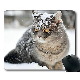 (260X210X3) Alfombrilla de ratón para juegos, almohadilla de ratón de gato, alfombrilla de ratón para ordenador cat338