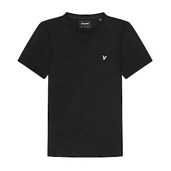 Lyle &Scott Plain T-Shirt Herren Schwarz