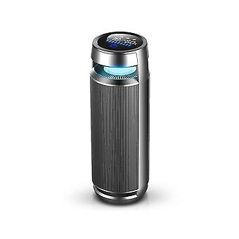 Digital Display Negative Ion Car Air Purifier Cup Holder Type Air Monitor Car Sterilizer with