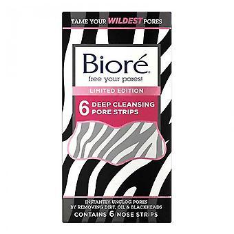 Biore zebra deep cleansing pore nose strips