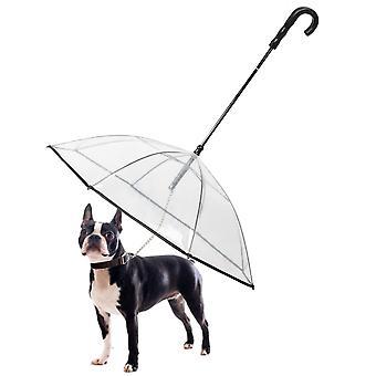 Parapluie pour chien avec laisse Outdoor Dog Walking Anti Rain Anti Snow