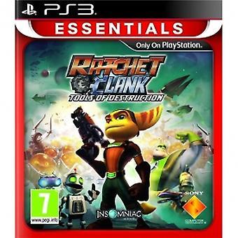 Ratchet & Clank Tools Of Destruction Game (Essentials) PS3