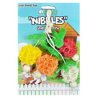 AE Cage Company Nibbles Fruit Bunch Loofah Chew Toy - 1 count