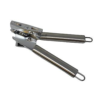 H-grunder Rostfritt stål Can Opener - Manuell, Rostfritt, Släta kanter