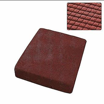 Chaises 1 seatr stretchy sofa seat cushion cover couch slipcovers protector wine red