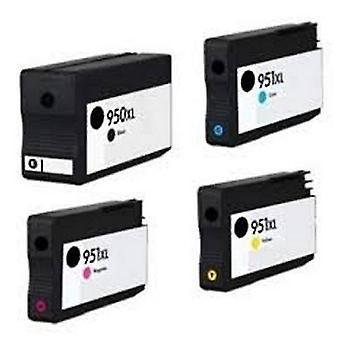 Toner inkjet cartridges compatible ink cartridge h951xl