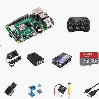 Raspberry Pi 4 4gb Komplettkit, mit Touchscreen, Tastatur und Gehäuse, 4gb Ram