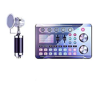 Mikrofon. Hangkártya processzor készlettel. Vezeték nélküli Bluetooth Media Streaming Lejátszó. Alkalmas pc számítógépes karaoke mikrofonhoz.