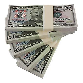 Play Money - 50 amerikai dollár (100 bankjegy)