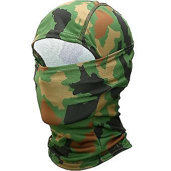 Summer- Full Face & Head Mask Hood-cap Helmet