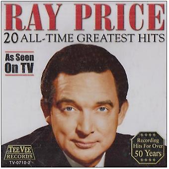 Ray Price - 20 Greatest Hits [CD] USA import