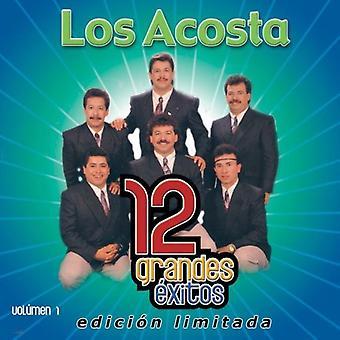 Los Acosta - Los Acosta: Vol. 1-12 Grandes Exitos [CD] USA import