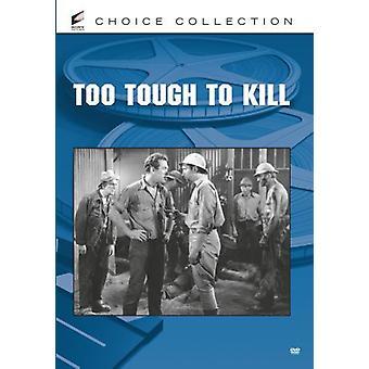 Trop dure pour importation USA tuer [DVD]