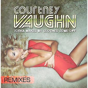 Vaughn - Vodka hace mi ropa viene apagado (Remixes) [CD] USA importar