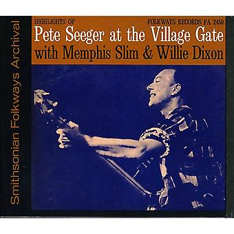Pete Seeger - Pete Seeger at the Village Gate with Memphis Slim [CD] USA import