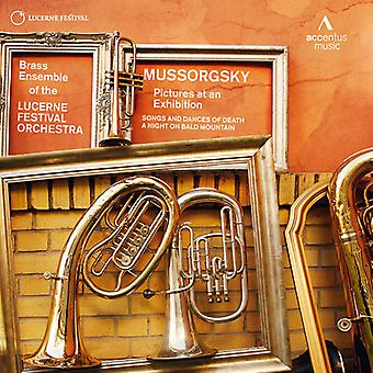 Modest Mussorgsky - Mussorgsky: Pictures at an Exhibition [CD] USA import