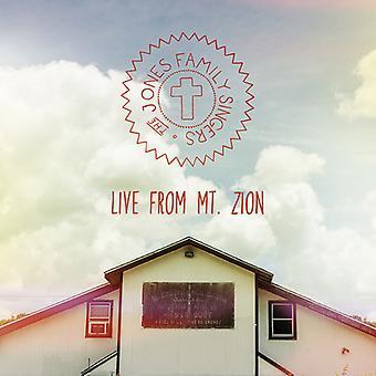 Chanteurs de famille Jones - importation USA Live de Mt. Zion [CD]
