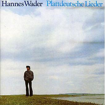 Hannes Wader - Plattdeutsche Lieder [CD] USA import