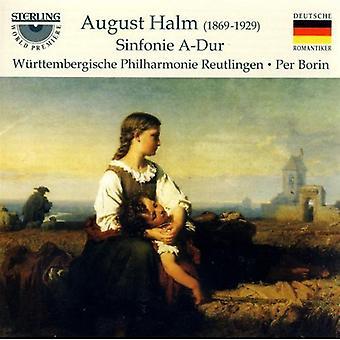 A. Halm - August Halm: Sinfonie a-Dur [CD] USA import