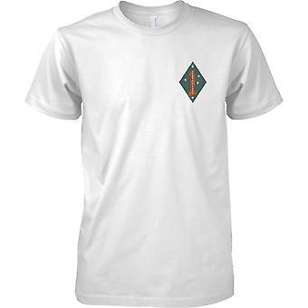 1ère Division de marines USMC - Guadalcanal - insignes militaires - Kids coffre Design T-Shirt
