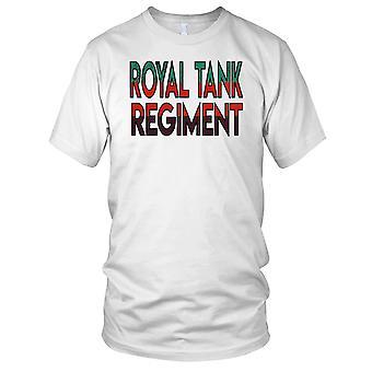 Brittiska armén 1st Royal Tank regemente namn damer T Shirt