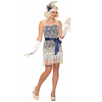 Flapper 1920s Gold Coast Socialite Gangster Gatsby Charleston Women Costume