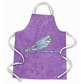 Carolines Treasures  8865APRON Dragonfly on Purple Apron