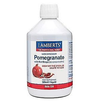 Lamberts Liquid Pomegranate Concentrate, 500ml
