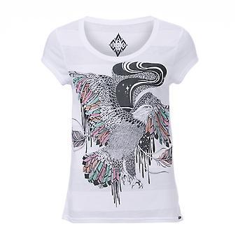 Animal fri Spirit kortärmad T-shirt i vitt