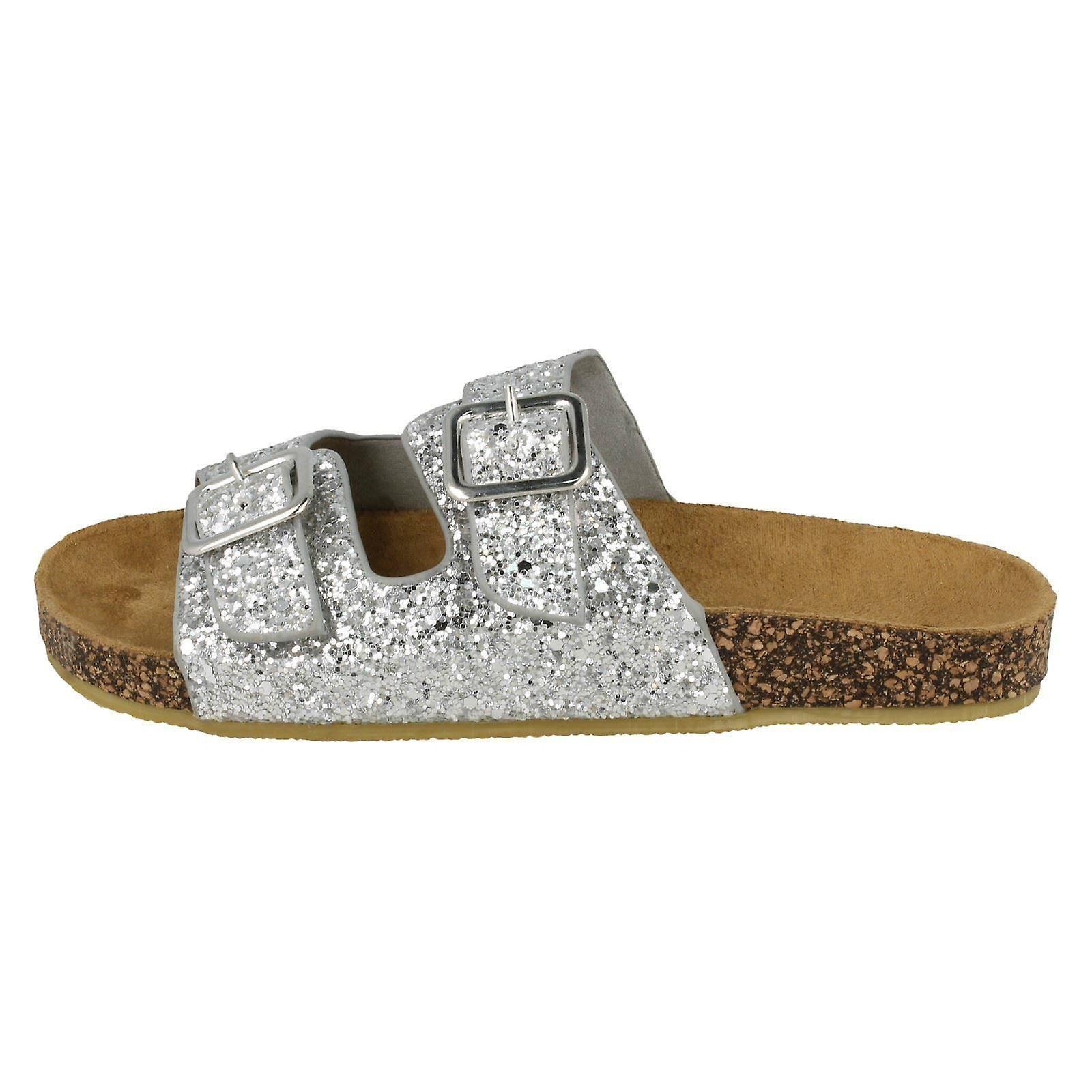 Spot de filles sur Glitter Sandals - Glitter argent - UK taille 12 - UE taille 30 - taille US 13 DOVwlR