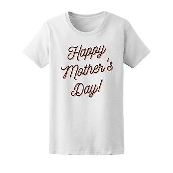 Bonne fête des mères Tee femmes-Image de Shutterstock