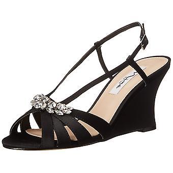 Nina Womens Viani Peep Toe Special Occasion Platform Sandals