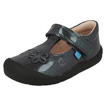 الفتيات زهرة ستارترايت تفصيل أحذية مسطحة ميا الأولى