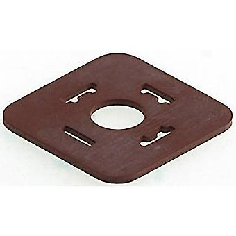 Flat gasket GDM 3-17 Brown GDM3-17 Belden Content: 1 pc(s)