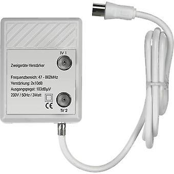 Renkforce TVS 8-08 Cable TV amplifier 2-way 20 dB