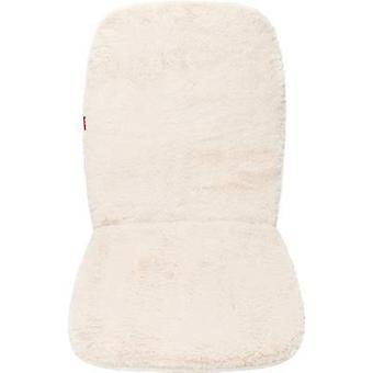 Unitec 75777 Seat covers 1-piece Polyester, Synthetic fur Beige Drivers seat