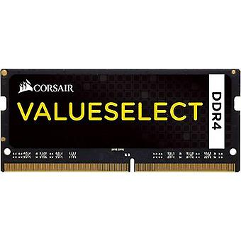 Corsair Laptop RAM hukommelse ValueSelect CMSO4GX4M1A2133C15 4 GB 1 x 4 GB DDR4 RAM 2133 MHz CL15-15-15-36
